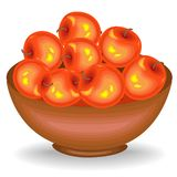 E Собрал корзины великодушные сбора полные зрелых сочных ягод Свежие красивые клубники и вишни, источник иллюстрация штока