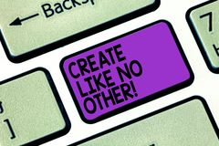 E Схематическое фото более творческо чем ваша клавиша на клавиатуре отличных идей конкурентов стоковое фото