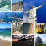 E Южная Америка стоковое изображение rf