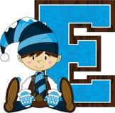 E для эльфа Стоковые Изображения RF