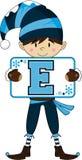 E для эльфа Стоковое Изображение RF