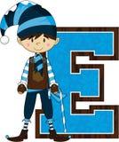 E для эльфа Стоковые Фотографии RF