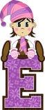 E для эльфа Стоковая Фотография RF