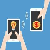 E- 企业概念 免版税库存图片