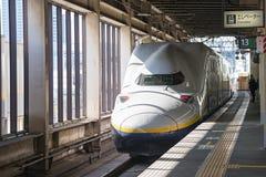 E4系列子弹(高速)火车 库存照片