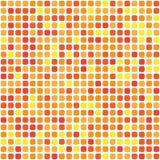 E 在混乱疏散的红色伽玛的484形状 向量例证