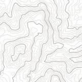 E 地理位置线,绘图等高线自然痕迹安心纹理图象 映射栅格 向量例证
