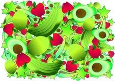 E 明亮的果子 免版税图库摄影