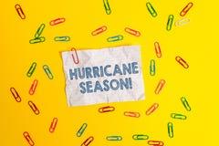 E 概念性照片时候,当多数热带气旋预计开发空白 免版税库存图片