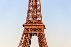 E 法国巴黎 免版税库存照片