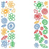 E 绘,五颜六色,在一张纸的图片在白色背景的 向量例证