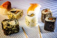E Комплект азиатской еды стоковая фотография rf