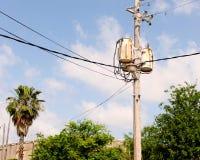 Линии электропередач стоковая фотография rf