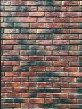 石墙由砖做成 库存图片