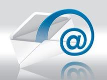 e邮件 免版税库存照片