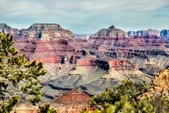 Diversos colores en el valle de Grand Canyon Fotos de archivo