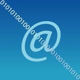 e互联网邮件符号 皇族释放例证
