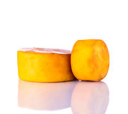 το τυρί ανασκόπησης κάπνισ&e Στοκ εικόνα με δικαίωμα ελεύθερης χρήσης