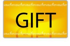 ваучер подарка e Стоковая Фотография RF
