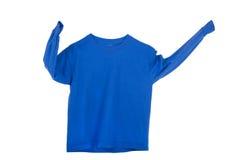 γράμμα Τ πουκάμισων εκφράσ&e Στοκ φωτογραφία με δικαίωμα ελεύθερης χρήσης