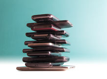 "E-Abfall †""intelligente Telefone Lizenzfreies Stockfoto"