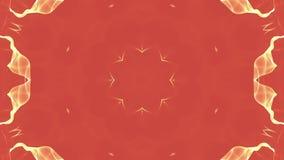 E Abstracte caleidoscoop 3d geef terug royalty-vrije illustratie