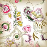 e abstrait floral Photo stock