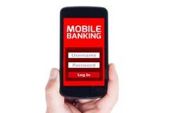 e-actividades bancarias imagen de archivo libre de regalías
