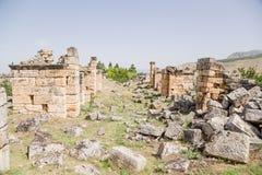 E Antykwarskie ruiny Fotografia Stock