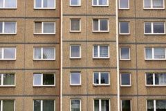 E Architektursonderkommando und Muster des sozialen Wohn von den Wohnungen in Jablonec, Tschechische Republik stockfoto