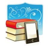 E-avläsare stock illustrationer