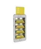 E-banking. Gold bullion in the smartphone. 3d illustration on a Royalty Free Stock Image