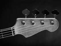 E-Bass-Gitarrenspindelkasten Lizenzfreie Stockfotos