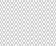 E bianco fondo del modello di ripetizione del tessuto strutturato zigzag grigio Fotografia Stock