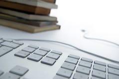 E-Bibliothek Stockbild