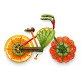 E-bici fruttata immagini stock