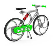 The e-bike Royalty Free Stock Image