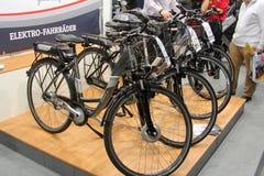 The e-bikes Royalty Free Stock Photos