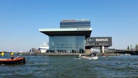 E 25 04 2019 Bimhuis στο Άμστερνταμ, η θέση όπου κυρίως οι συναυλίες τζαζ κρατιούνται απόθεμα βίντεο
