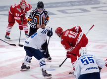 E. Bodrov (10) and A. Kuznetsov (84) Stock Photography