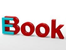 E-boek stock illustratie