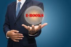 E-boeken concept stock fotografie