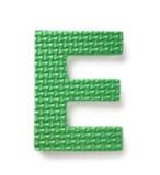e-bokstav royaltyfria bilder
