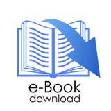 E -book符号 图库摄影