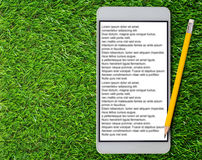 E-Book Concept Background Royalty Free Stock Photos