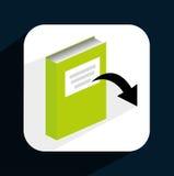 E-book concept Stock Photography