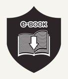 E-book concept Stock Photos