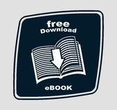 E-book concept Royalty Free Stock Photo