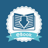E-book concept Royalty Free Stock Image