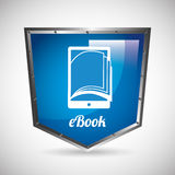 E-book concept Royalty Free Stock Images